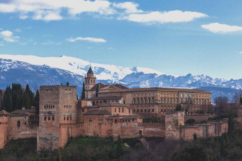 Foto di Granada vista Alhambra
