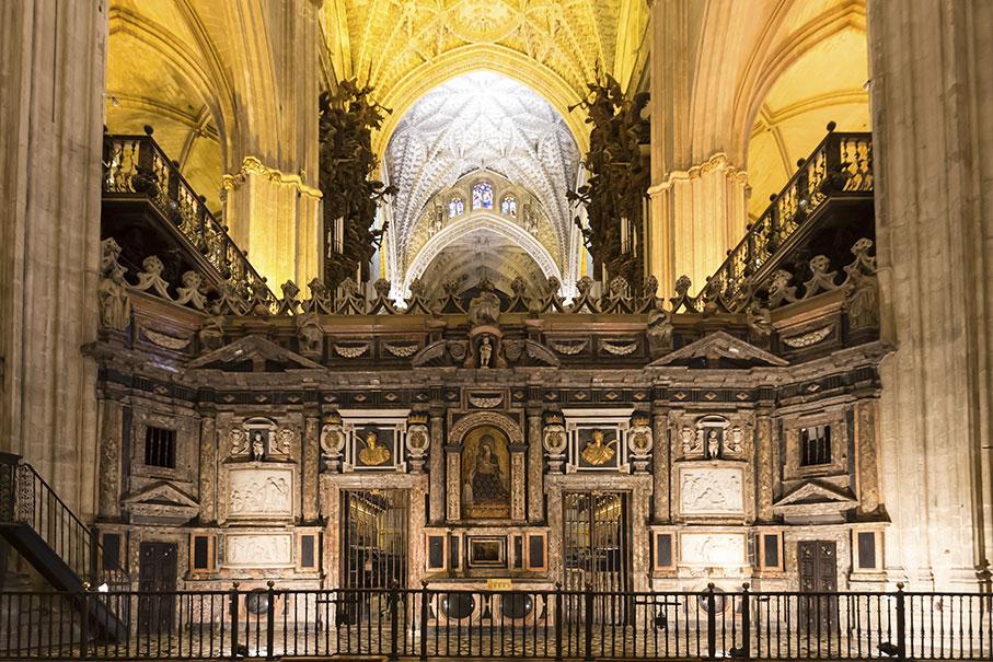 Interni Cattedrale Siviglia