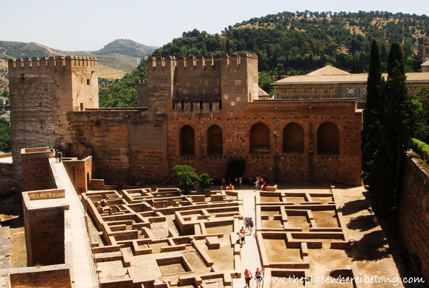 Alcabaza della Alhambra di Granada