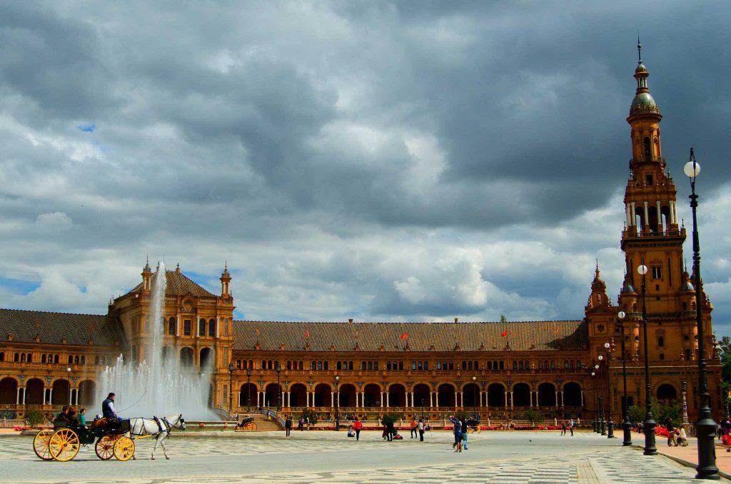 Piazza di Spagna foto storica