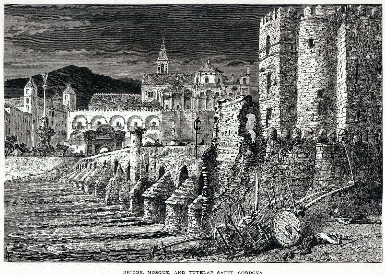 Ritratto antico della Moschea di Cordoba