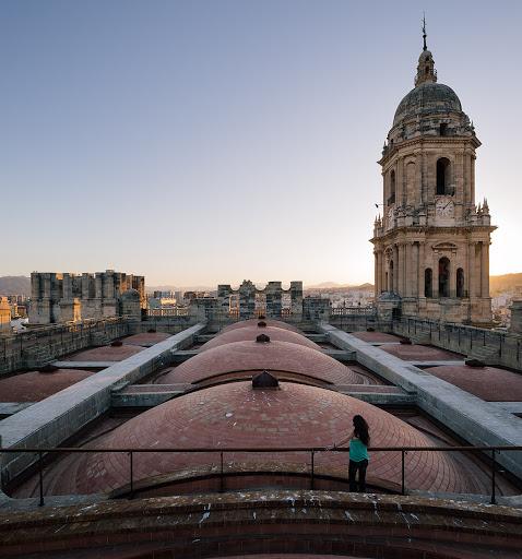 I tetti della cattedrale di Malaga