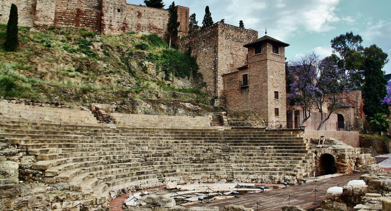 L'Alcazaba di Malaga, Spagna