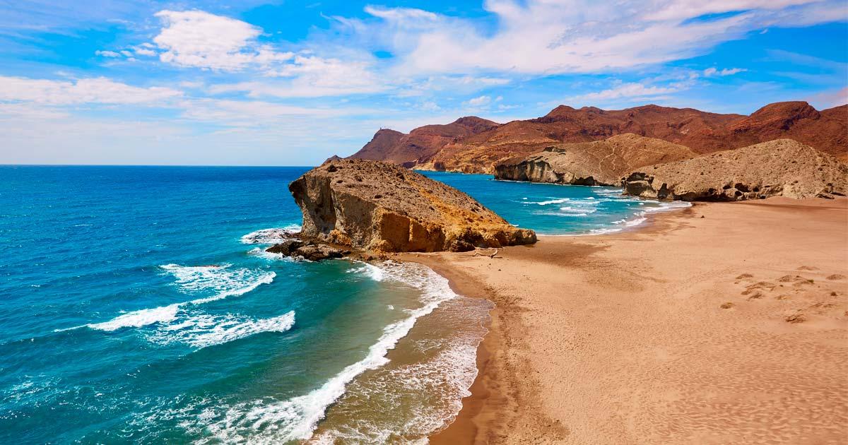 La costa di Almeria