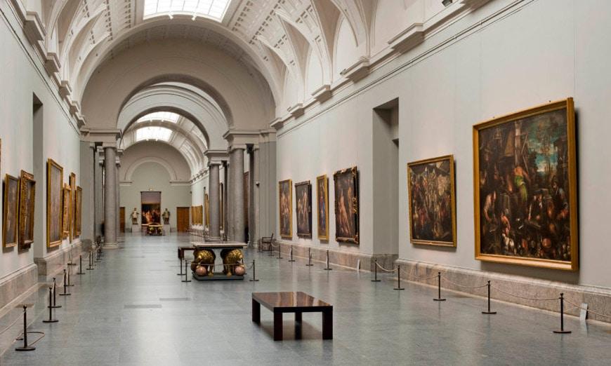 Museo del Prado Madrid interno